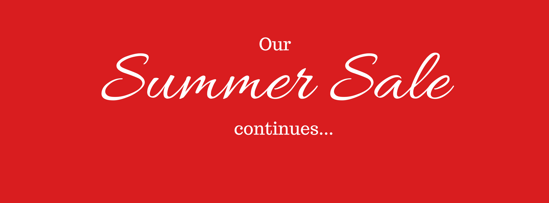summer fabric sale banner