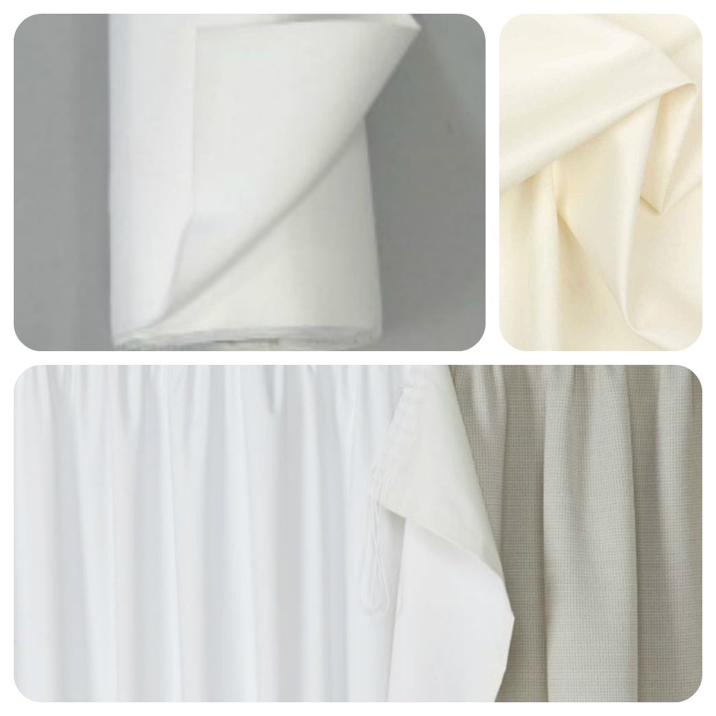 Linings Amp Interlinings Ivory Sateen Cotton Premium Quality