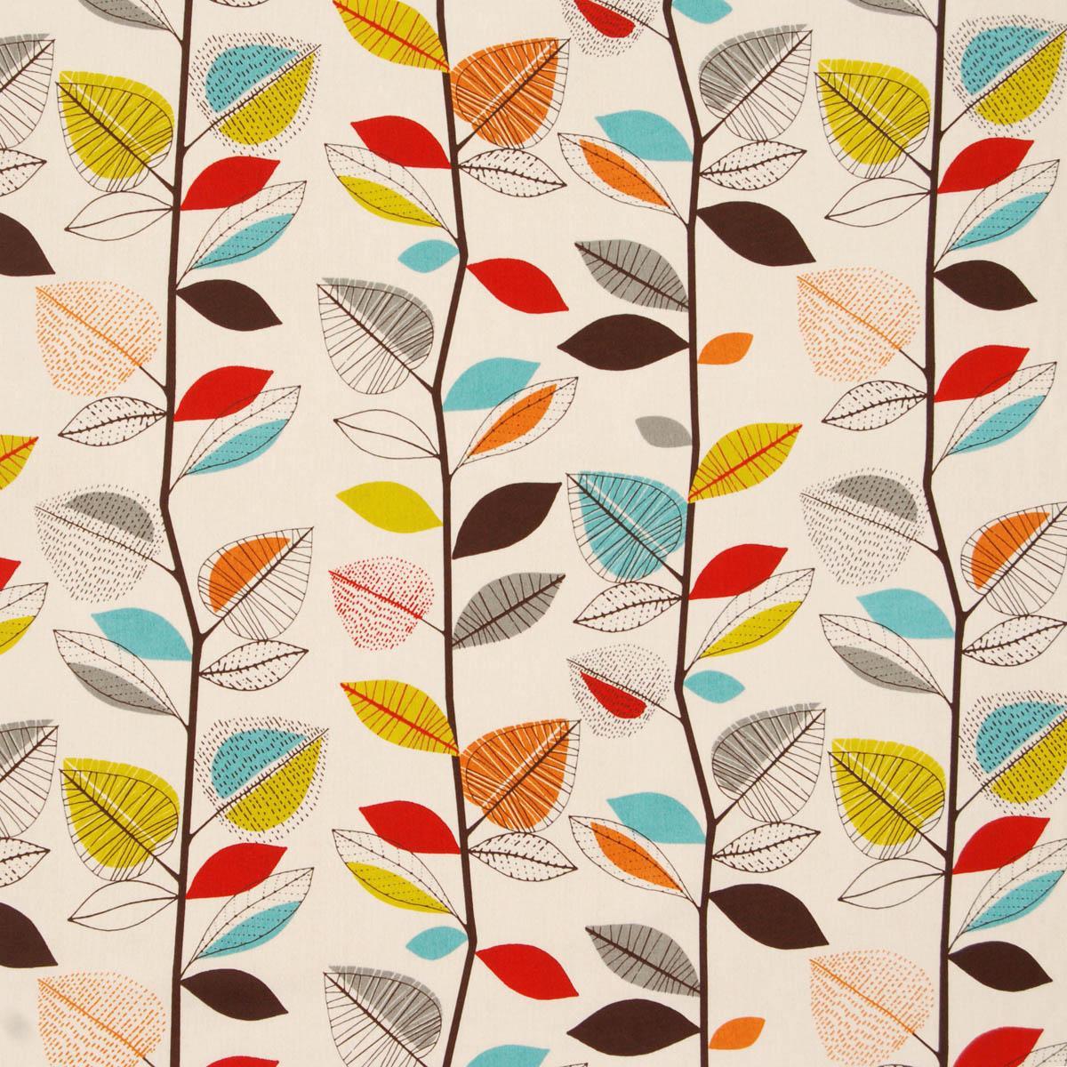 Curtain Fabric Autumn Colours Gopellingnet