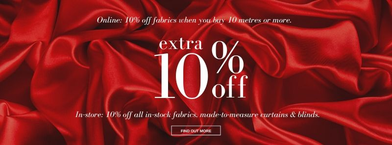 10 Off Sale Offers At Curtain Factory Outlet