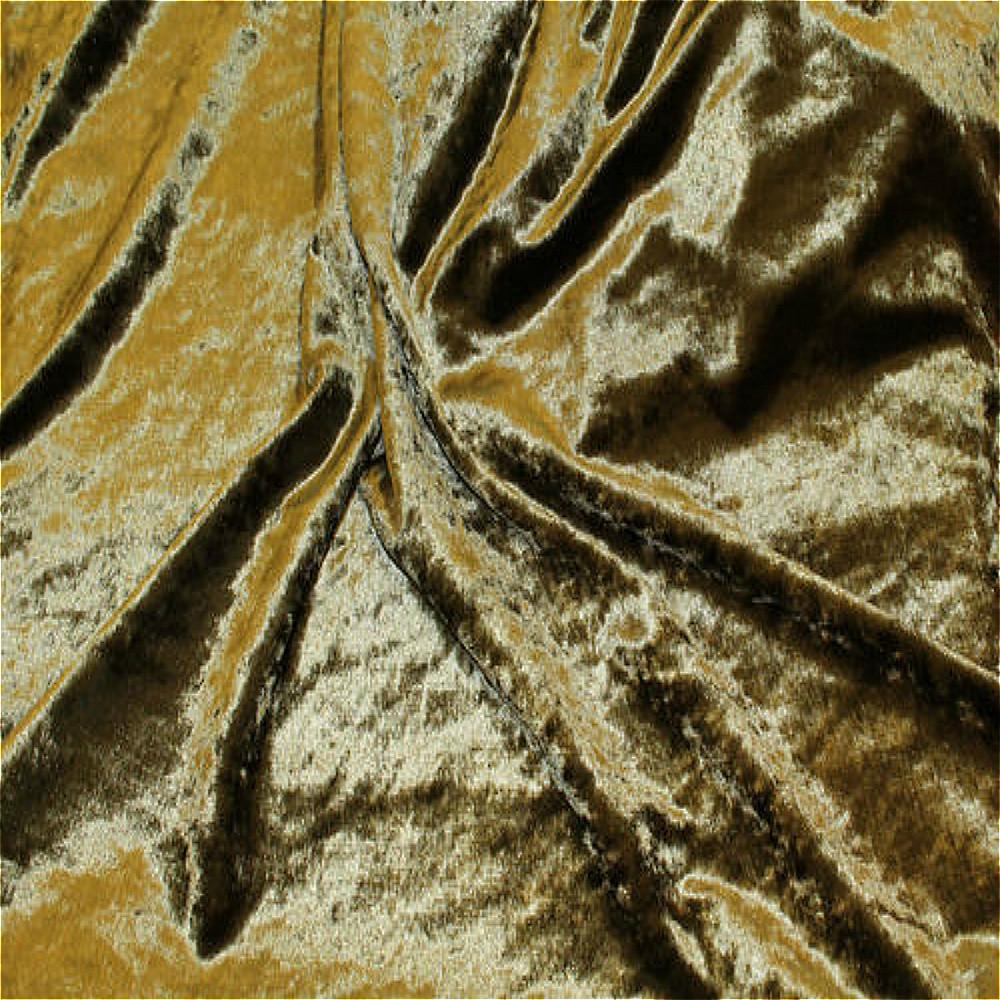 Fibre naturelle crushed velvet curtain fabric olive green for Velvet material for curtains