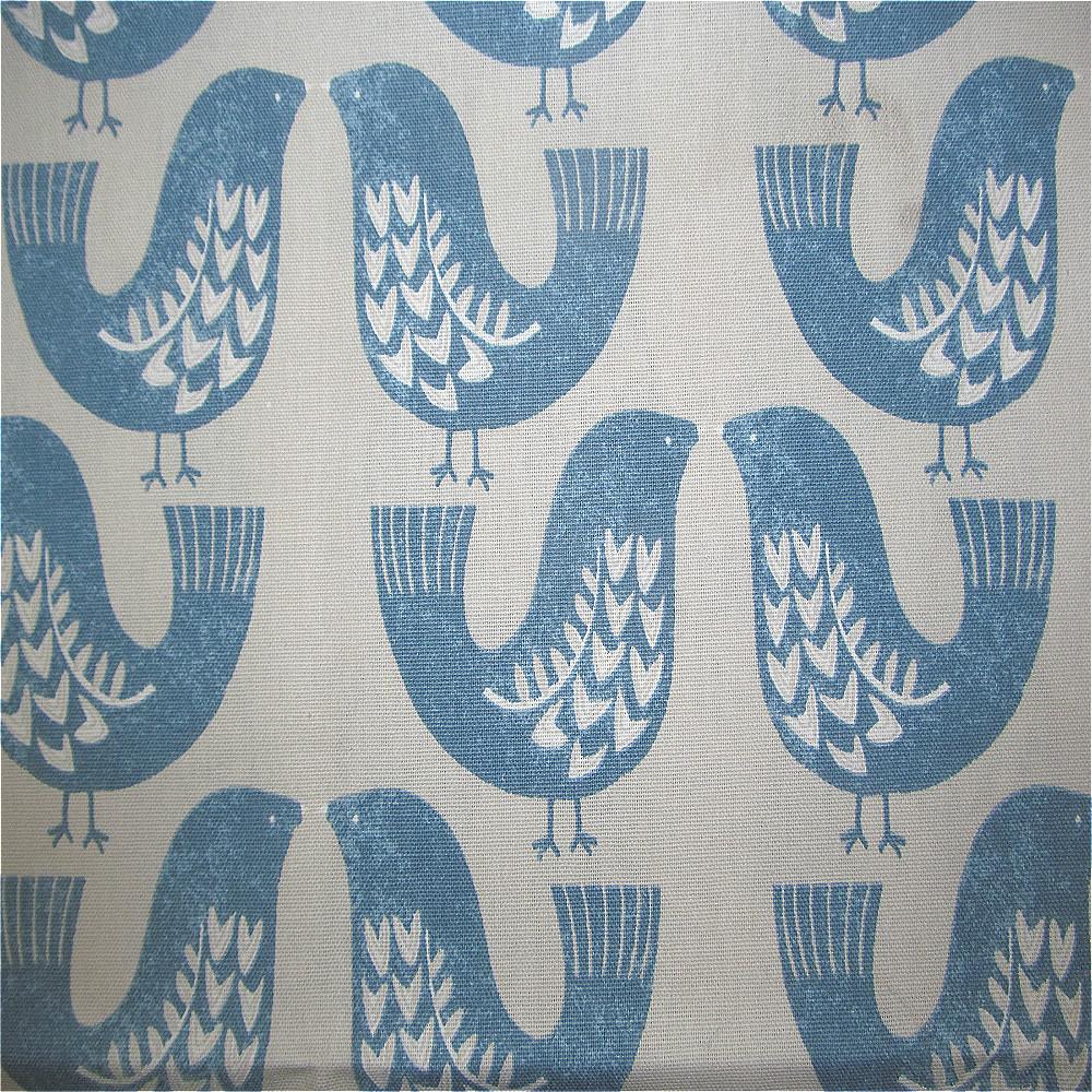 iLiv Scandinavian Birds Curtain Fabric Capri | Curtain Factory Outlet
