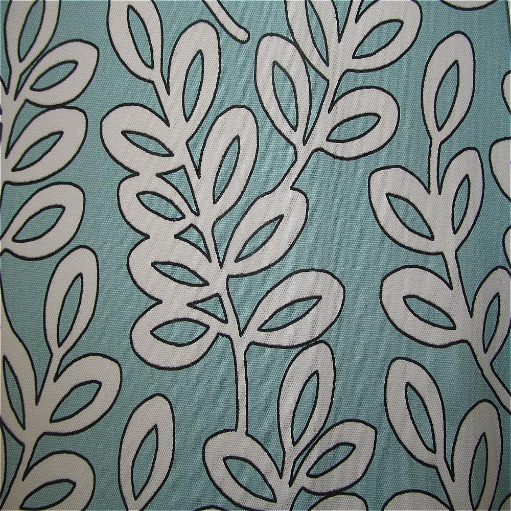 Iliv Scandinavian Birds Curtain Fabric Aqua Curtain