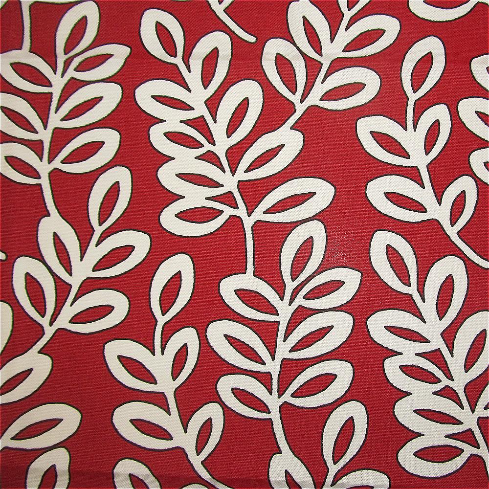Iliv Scandinavian Leaves Curtain Fabric Aqua Curtain