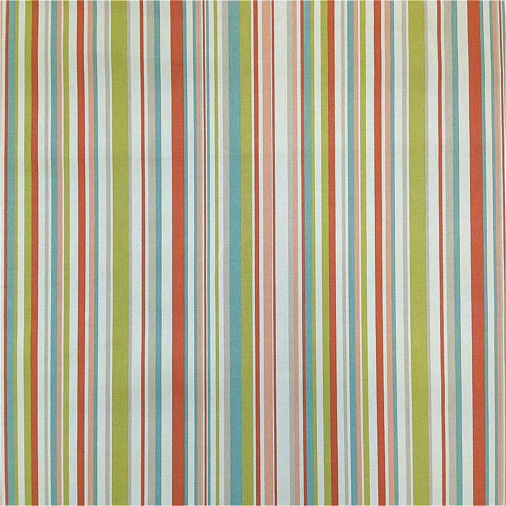 Marson Imports Funky Stripes Curtain Fabric Purple