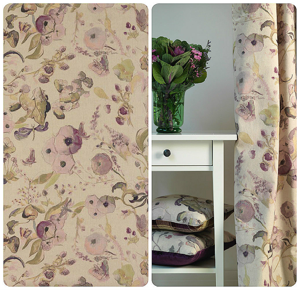 Chelsea Profusion Curtain Fabric | Curtain Factory Outlet