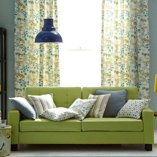 Iliv Hedgerow Curtain Fabric Pistachio Curtain Factory