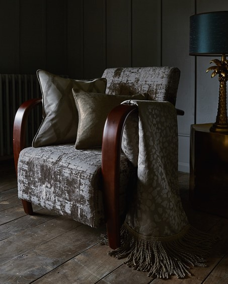 Prestigious Textiles Asteria Collection Aphrodite Sterling