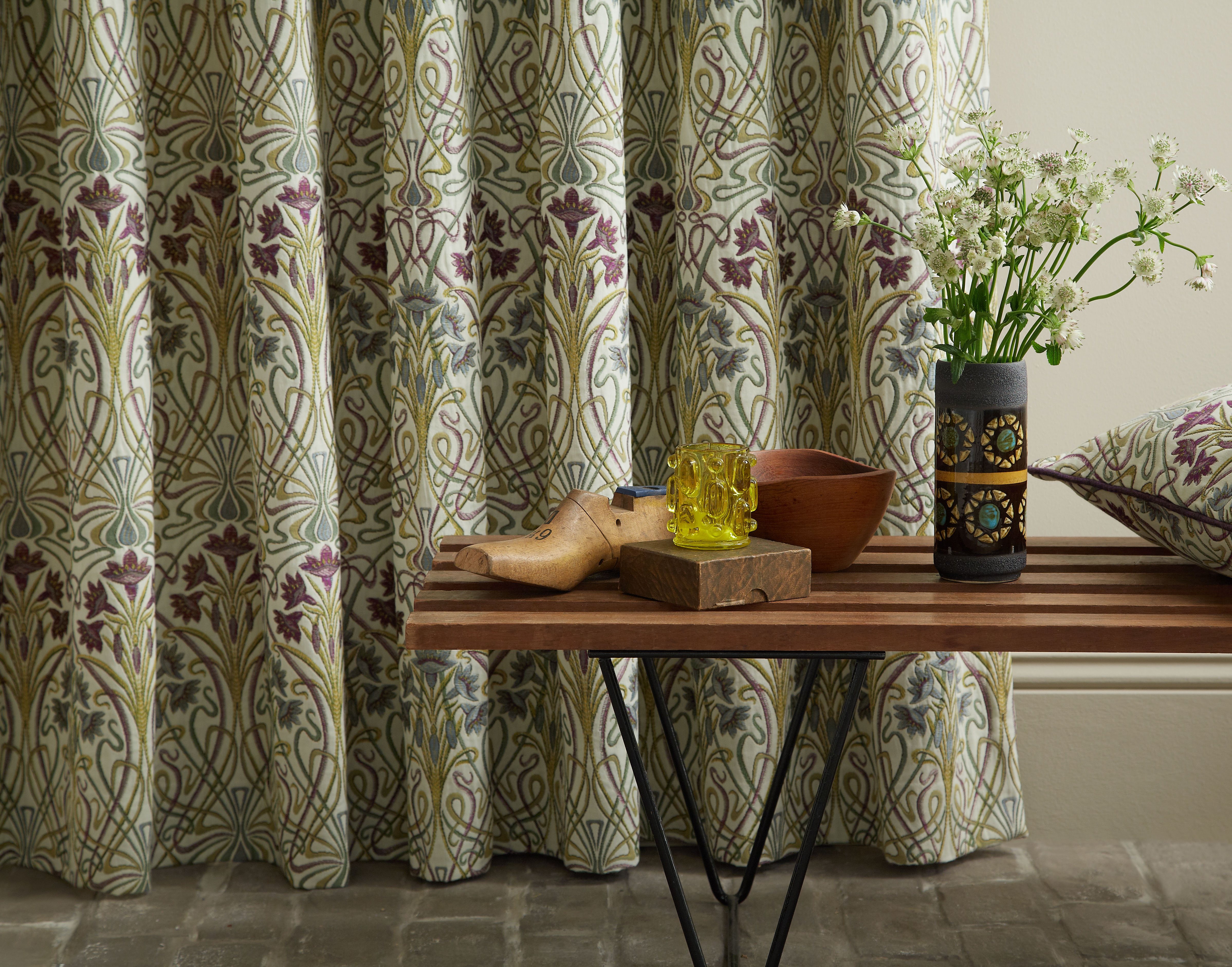 Iliv Tiffany Mulberry Curtain Factory Outlet