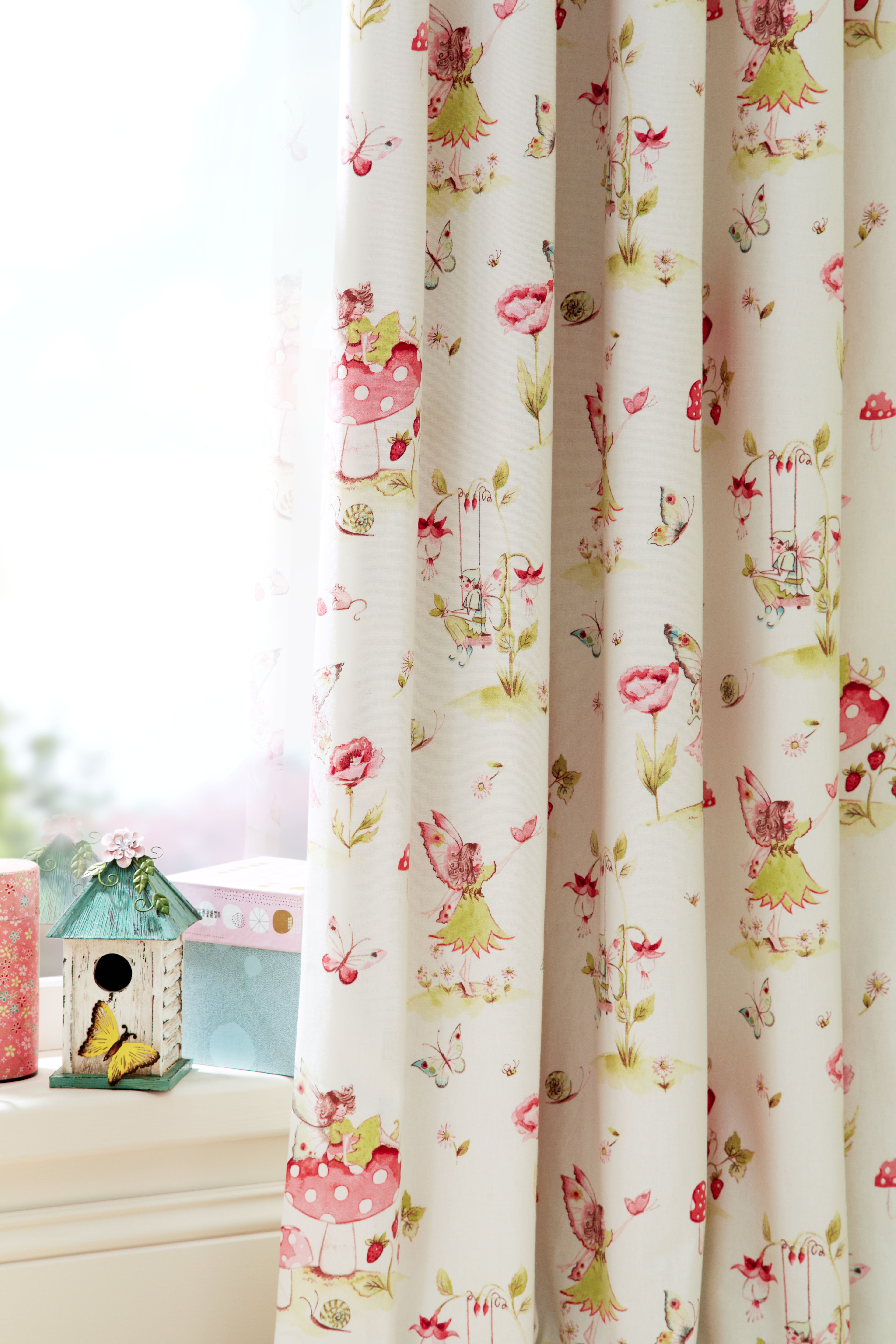 Iliv Fairytale Pink Curtain Factory Outlet