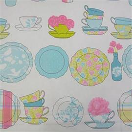 Ashley Wilde Elbridge In Bluebell Designer Fabric By The Metre
