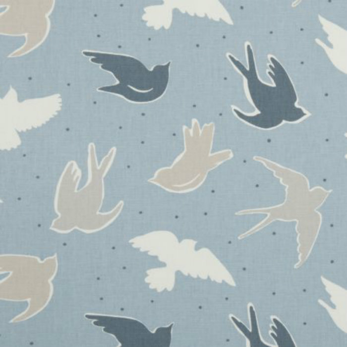 Clarke Amp Clarke Seabirds Curtain Fabric Marine Curtain