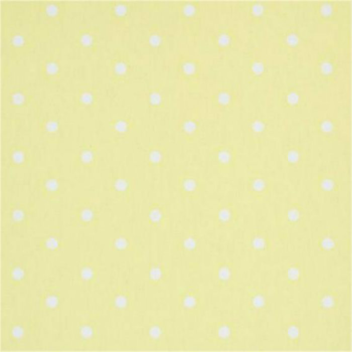 Clarke & Clarke Dotty Curtain Fabric Yellow | Curtain Factory Outlet