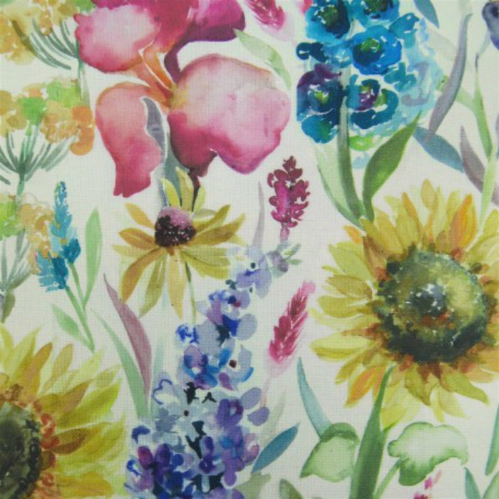 Voyage Curtain Fabric Sunflower