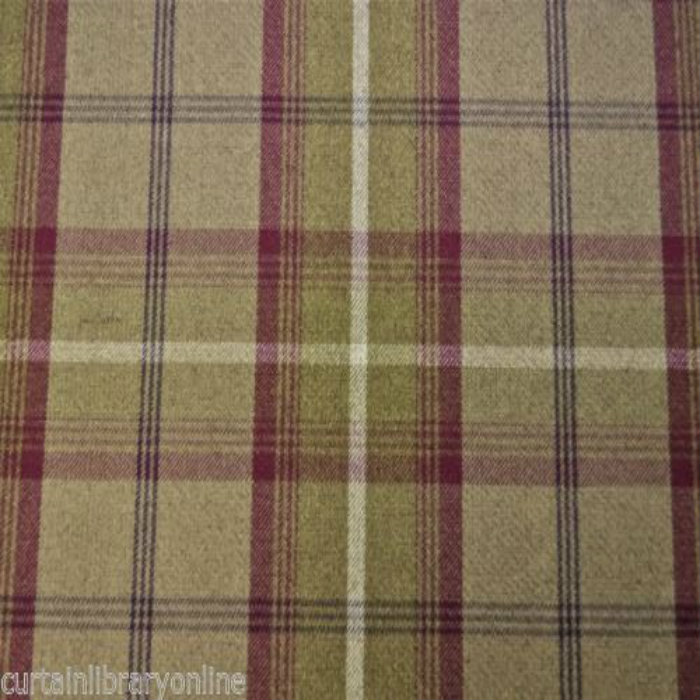 Porter & StoneBalmoral Curtain Fabric Heather | Curtain Factory Outlet