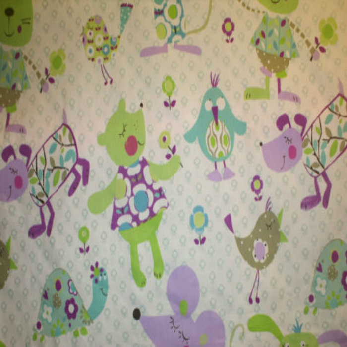 Prestigious Textiles Mitsy Mouse Curtain Fabric Lilac | Curtain ...