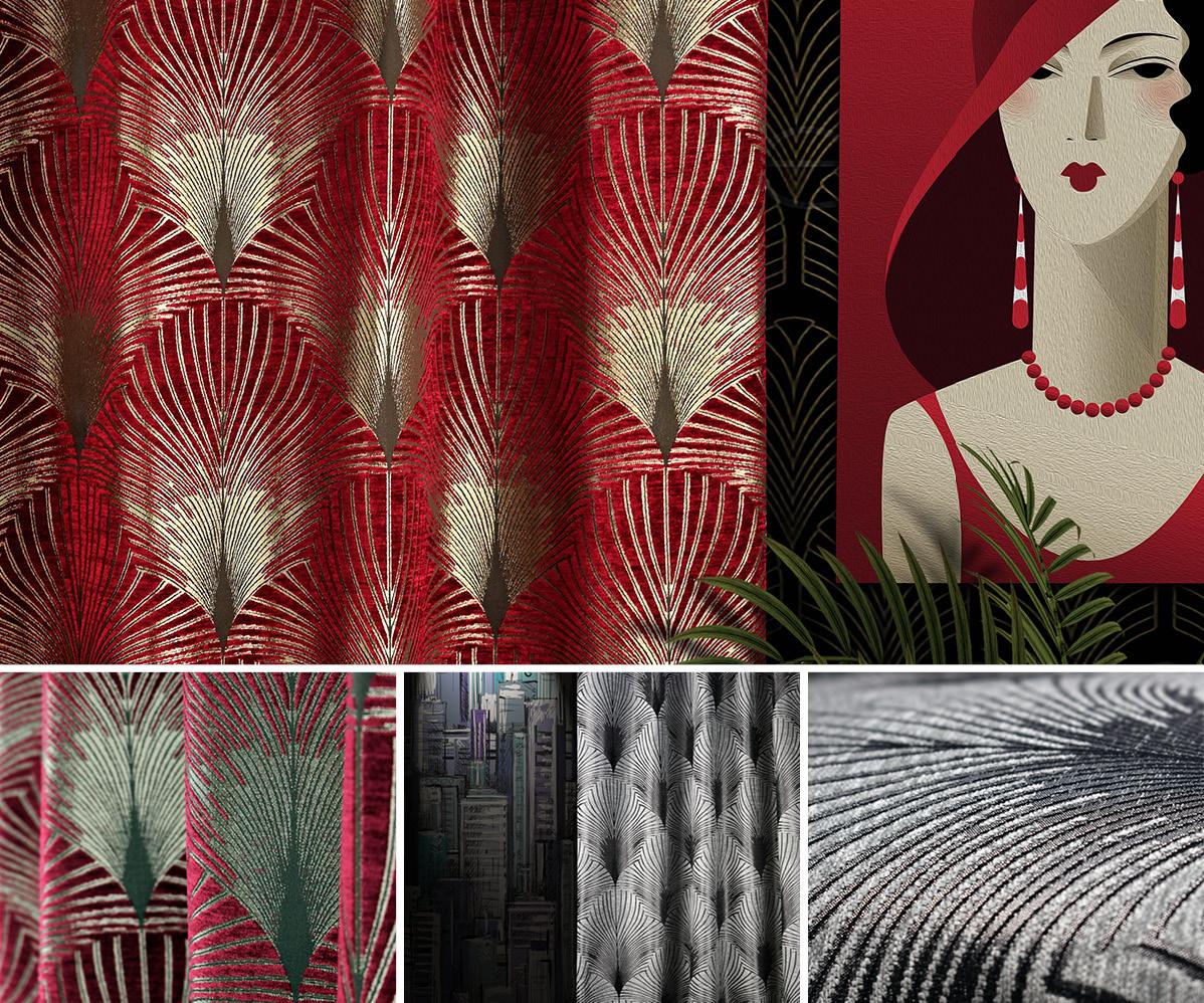 Fibre Naturelle New York Curtain Fabric Broadway Curtain