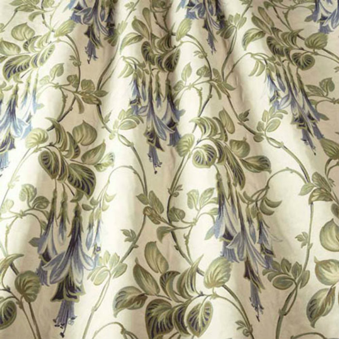 iLiv Liberty Curtain Fabric Navy | Curtain Factory Outlet
