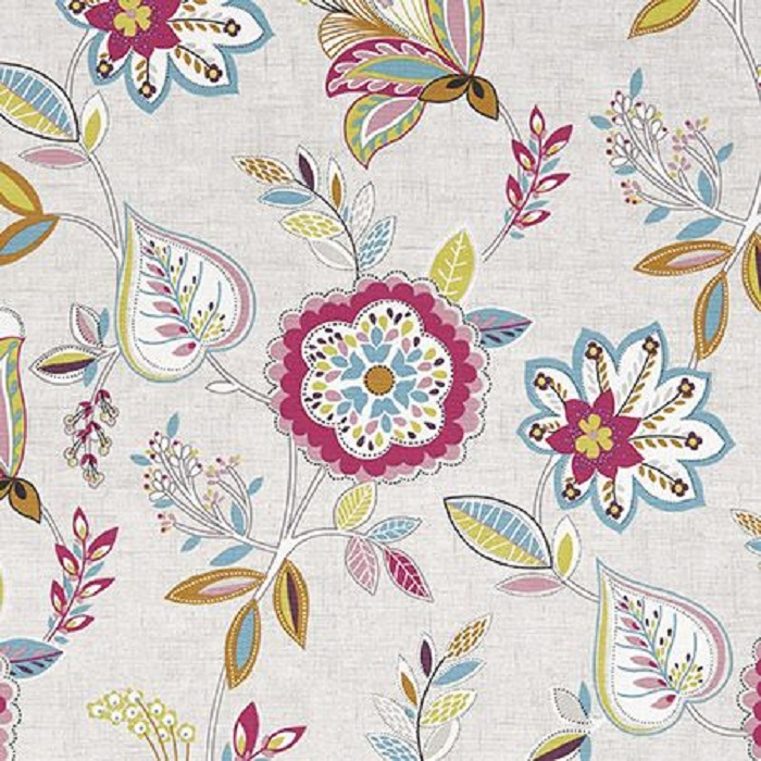 CLEARANCE  Ashley Wilde Summer Flower Curtain Fabric
